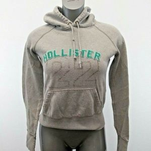 Hollister Tops - Hollister Hoodie Womens Large Gray Hoodie